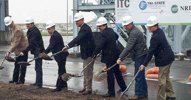 Wyoming Breaks Ground on Integrated Test Center