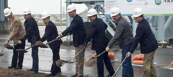 Wyoming Integrated Test Center breaks ground